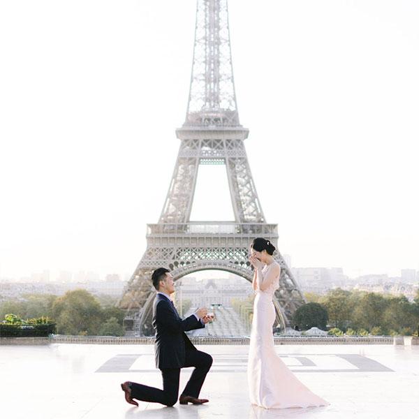 Pedido surpresa de casamento